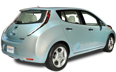 leasing nissan leaf 109hp acenta auto. Black Bedroom Furniture Sets. Home Design Ideas